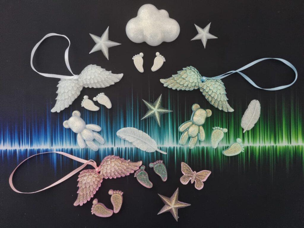 Flügel Sternenkinder Trostbox