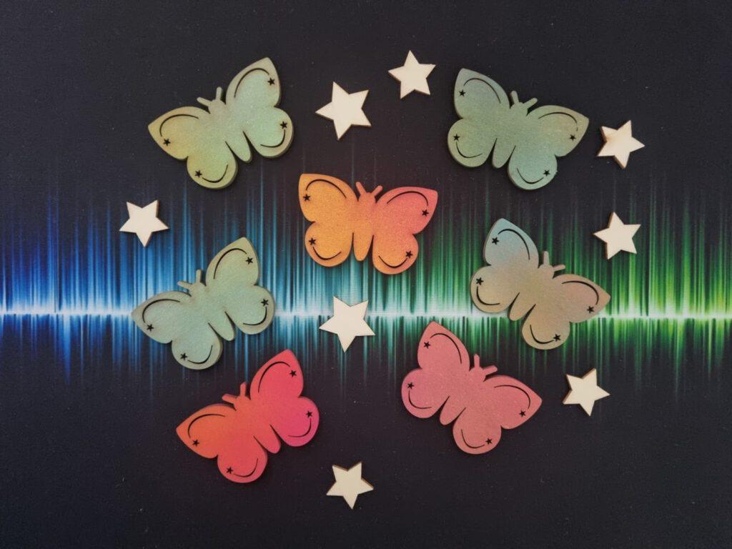 Schmetterlinge Sternenkinder Trostbox